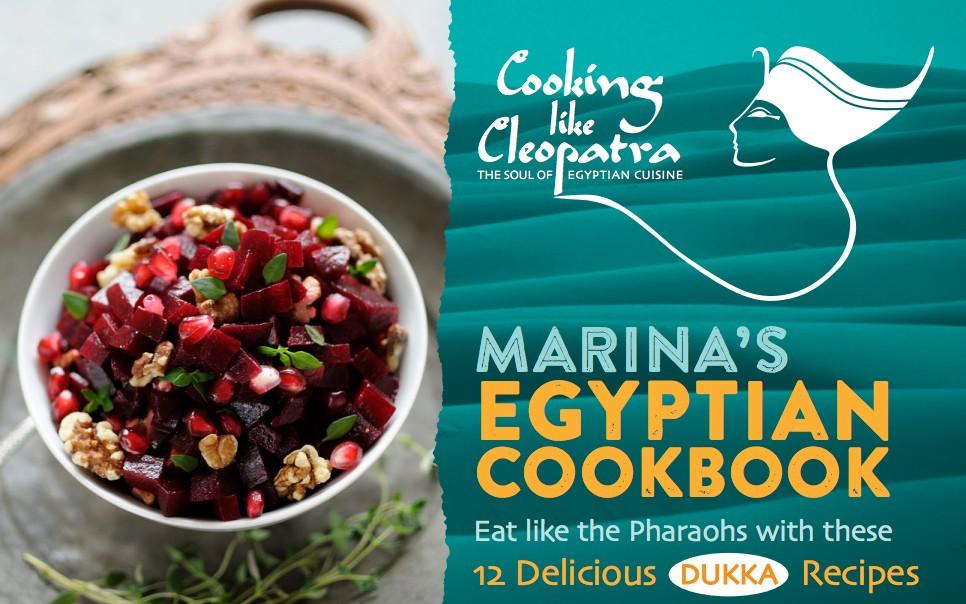Cleopatra's Dukka Cookbook